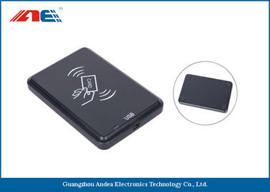 13.56 MHz Desktop Contactless RFID Reader Writer, USB Interface RFID Chip Readers 46g
