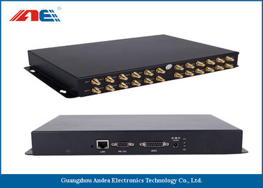 Trung Quốc 24 Channels RFID Fixed Reader , High Power RFID Reader For Rfid Inventory Management nhà phân phối