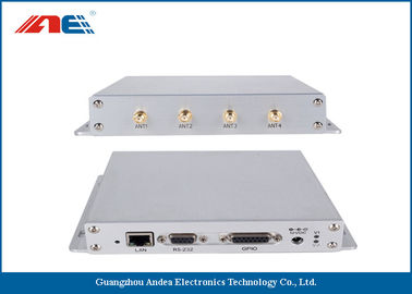 Trung Quốc SMA * 4 Antenna Etherent RS232 RFID Reader , Universal GPIO Interface RFID Reader nhà máy sản xuất