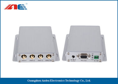 Trung Quốc Mid Range Fixed RFID Reader For Industrial RFID Systems ISO 18000 - 3 Protocol Four Channels nhà máy sản xuất